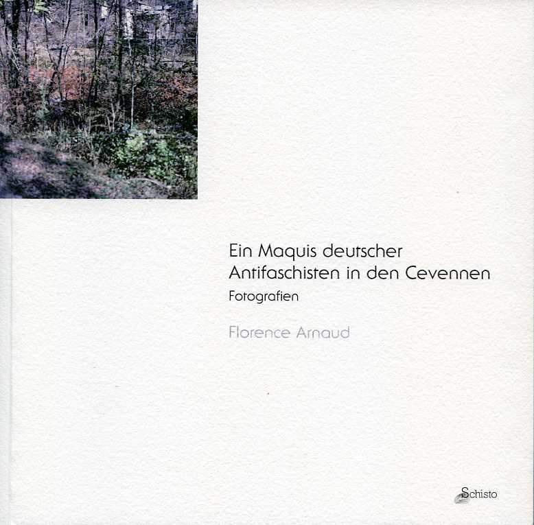 "catalogue de l'exposition ""Ein Maquis deutscher Antifaschisten in den Cevennen"" en allemand"