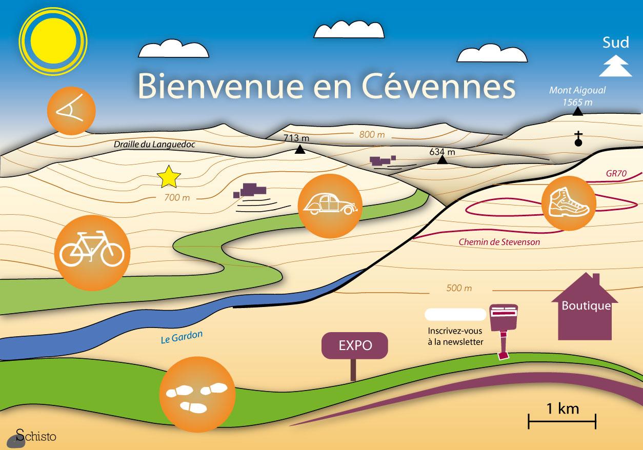 Bienvenue en Cévennes
