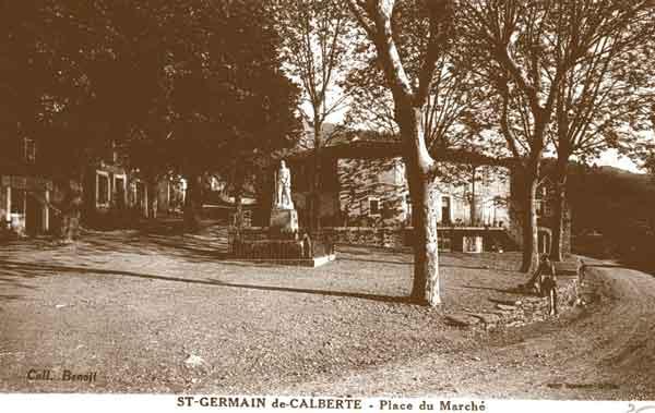 Le monument aux morts Saint-Germain-de-Calberte