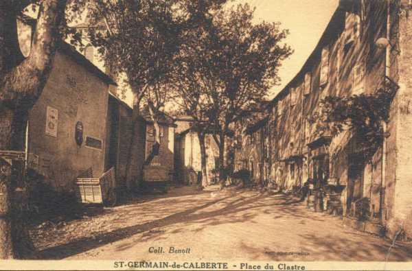 Place du Clastre - Saint-Germain-de-Calberte