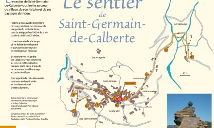 Le sentier de Saint-Germain-de-Calberte