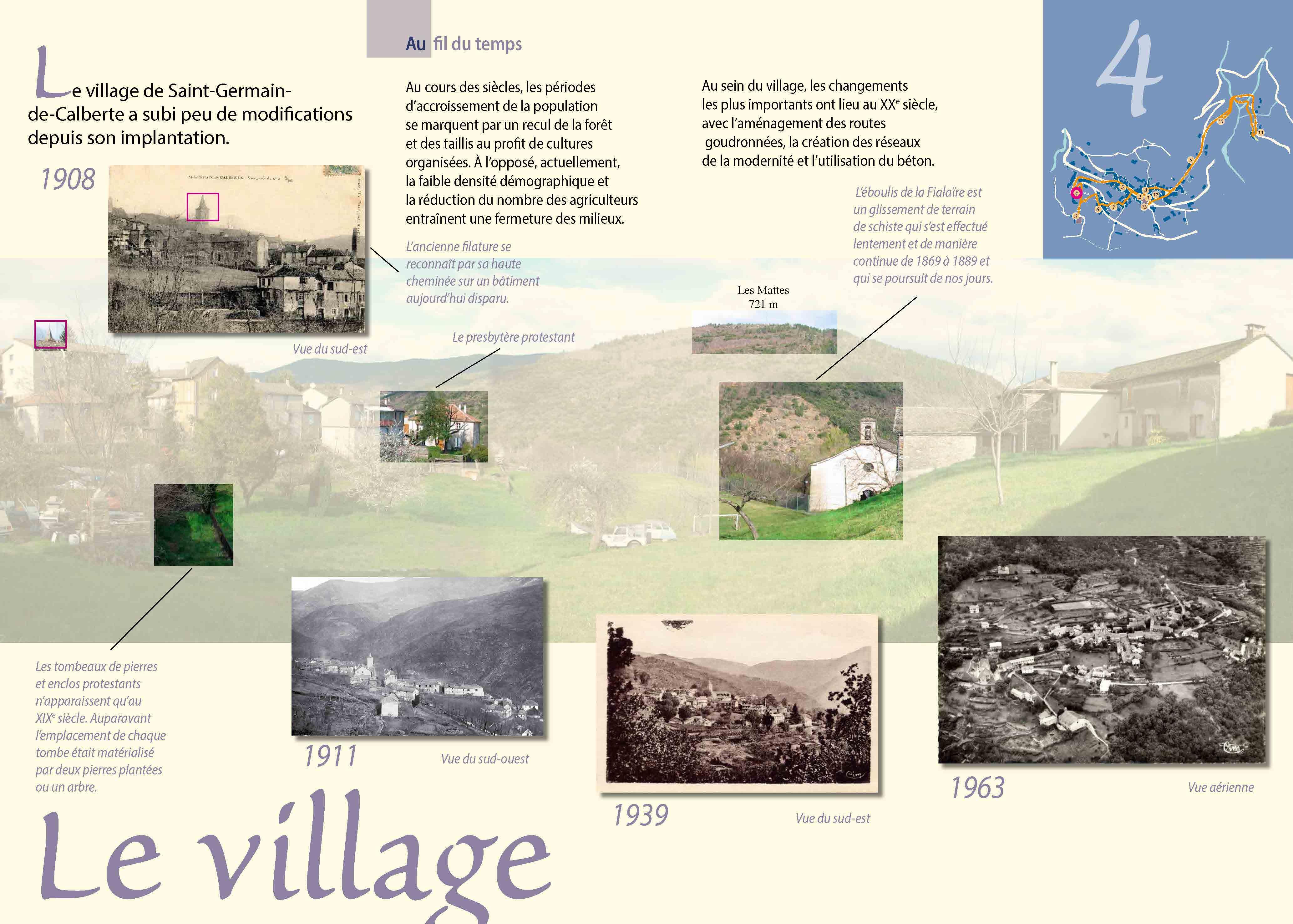 Lecture de paysage de Saint-Germain-de-Calberte