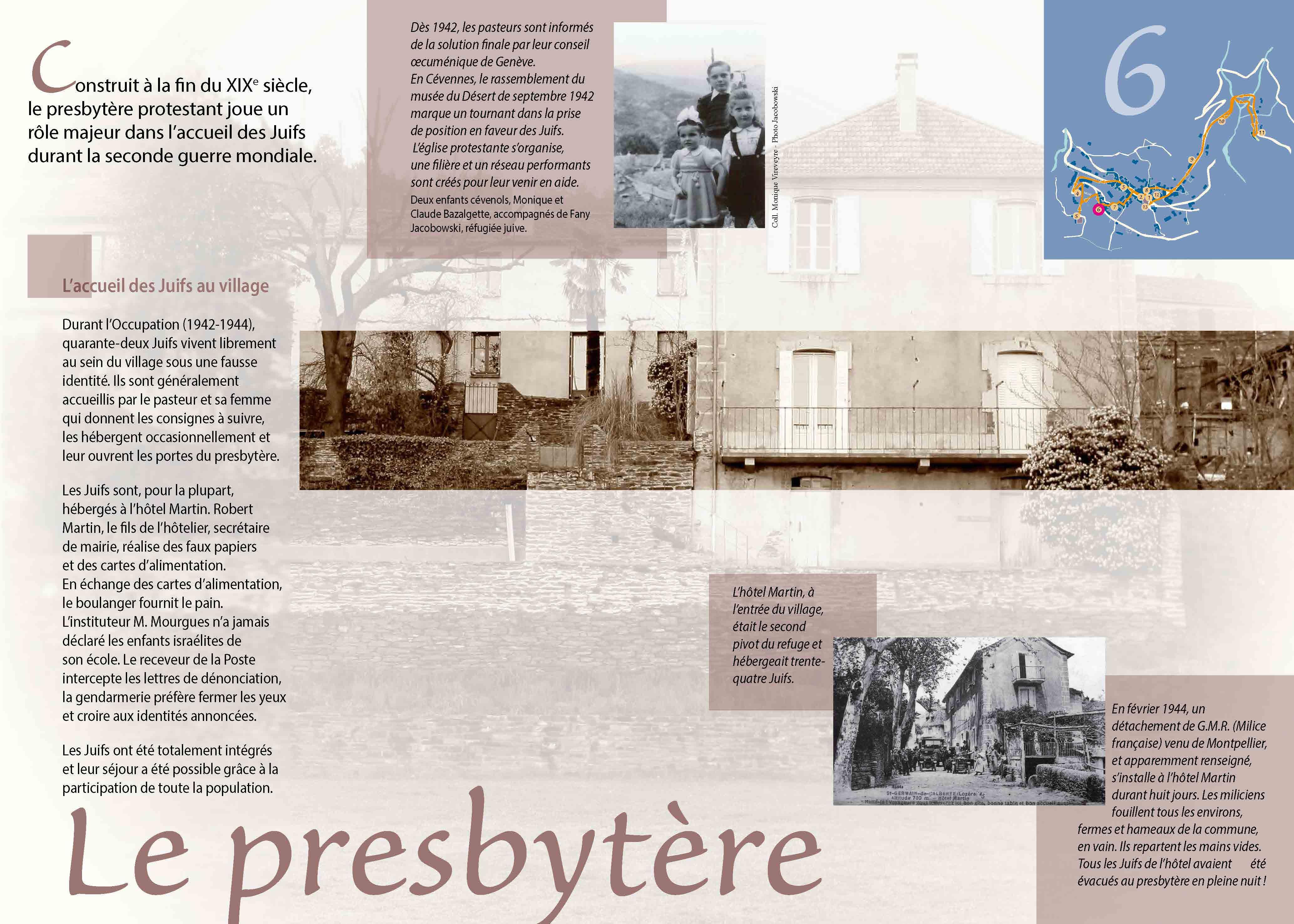Le presbytère et la seconde guerre mondiale à Saint-Germain-de-Calberte