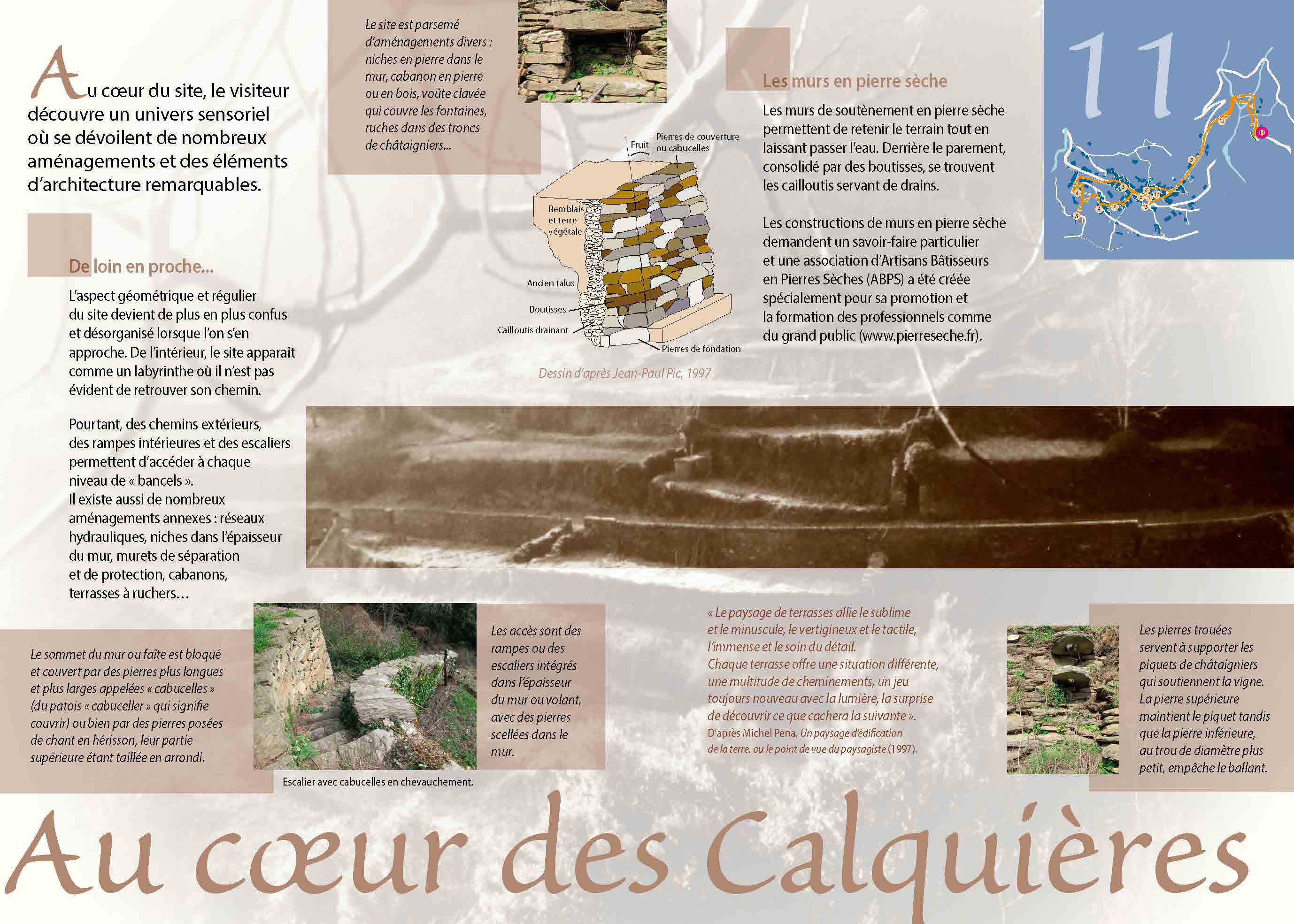 Les Calquières: les jardins en terrasses de Saint-Germain-de-Calberte