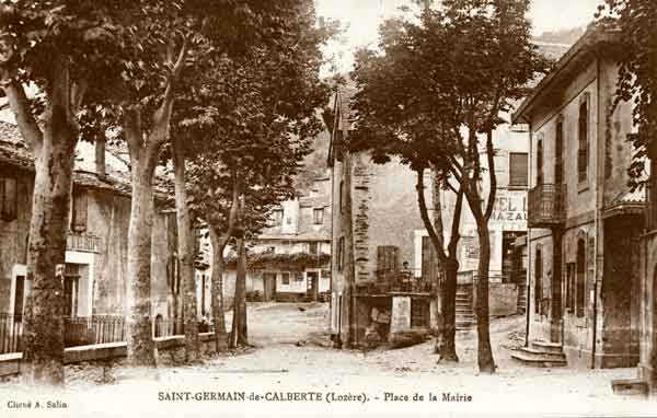 Bourg - Saint-Germain-de-Calberte