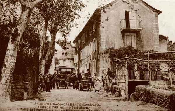 L'hôtel Thérond - Saint-Germain-de-Calberte