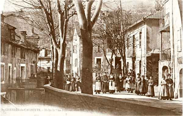 Les fileuses - Saint-Germain-de-Calberte