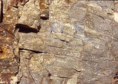 Quartzite - Vue de près - Vallée Borgne.