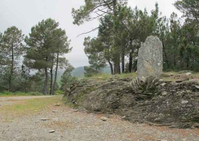 Col de la pierre plantée - Saint-Germain-de-Calberte - Saint-Germain-de-Lansuscle.