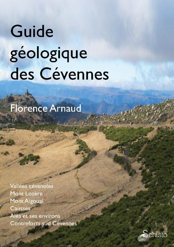 Couverture du guide géologique des Cévennes