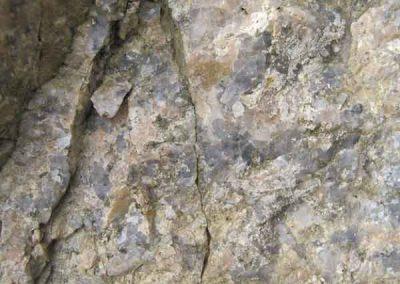 Le granite altéré à Ruas