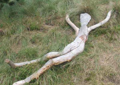 """""""Couchés dans l'herbe"""" de Fabrice Pressigout."""