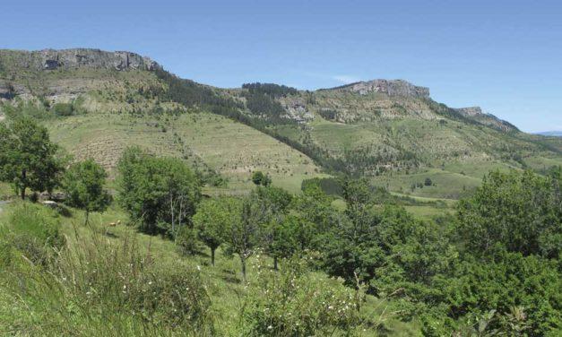 Stratigraphie du Causse… vers le col du Perjuret
