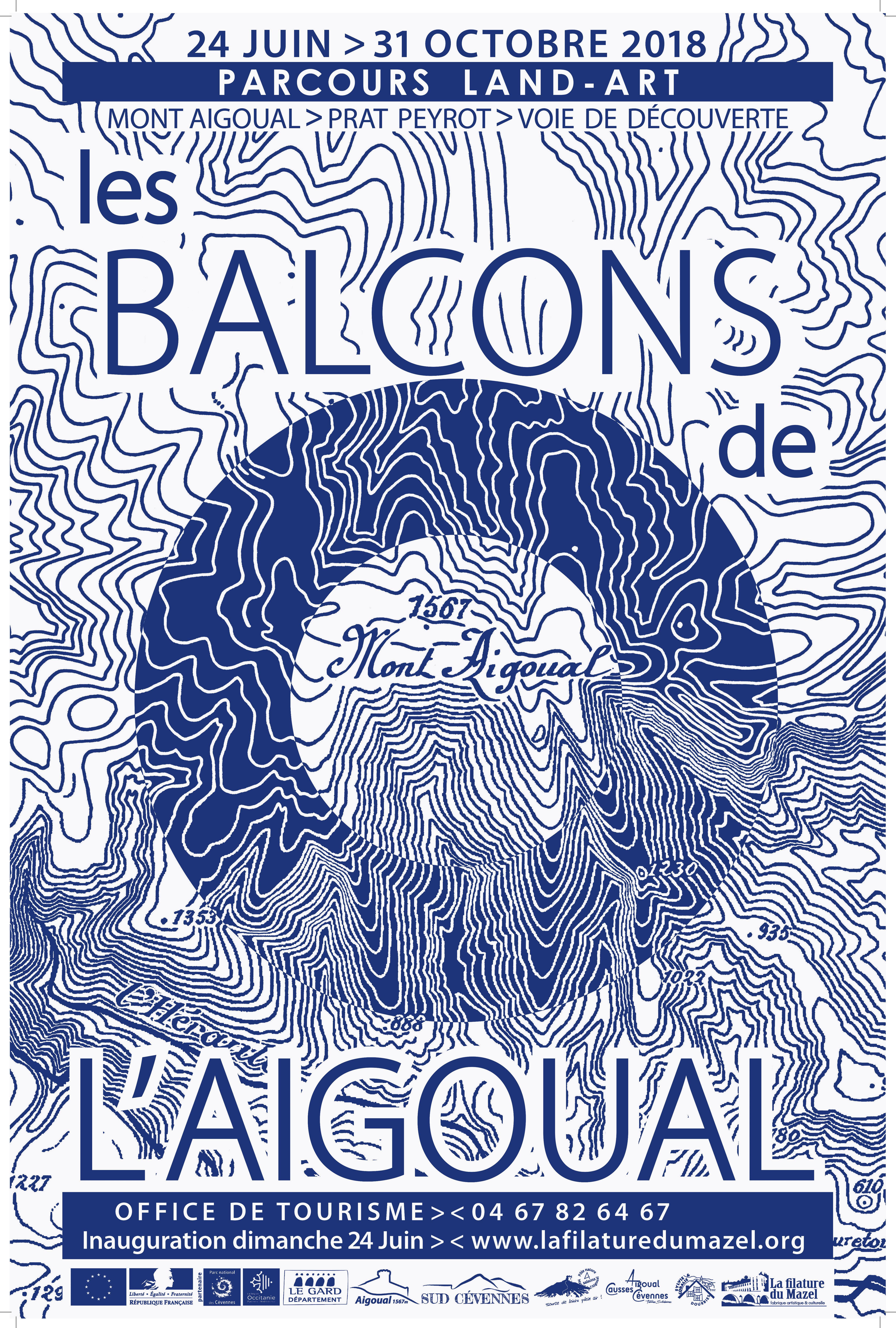 Affiche les balcons de l'Aigoual - Édition 2018