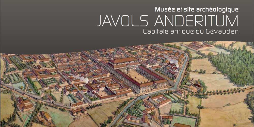 Le site du musée archéologique de Javols