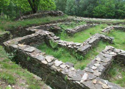 Fossé autour de la villa gallo-romaine de Saint-Clément