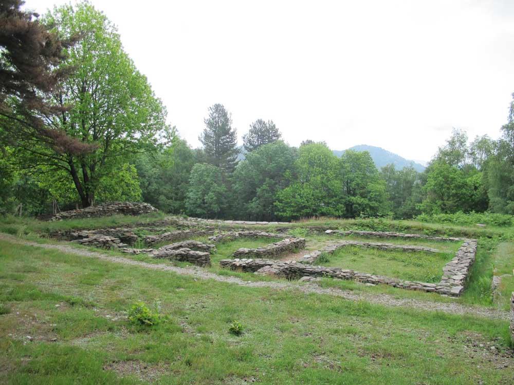 Le site de la villa gallo-romaine de Saint-Clément