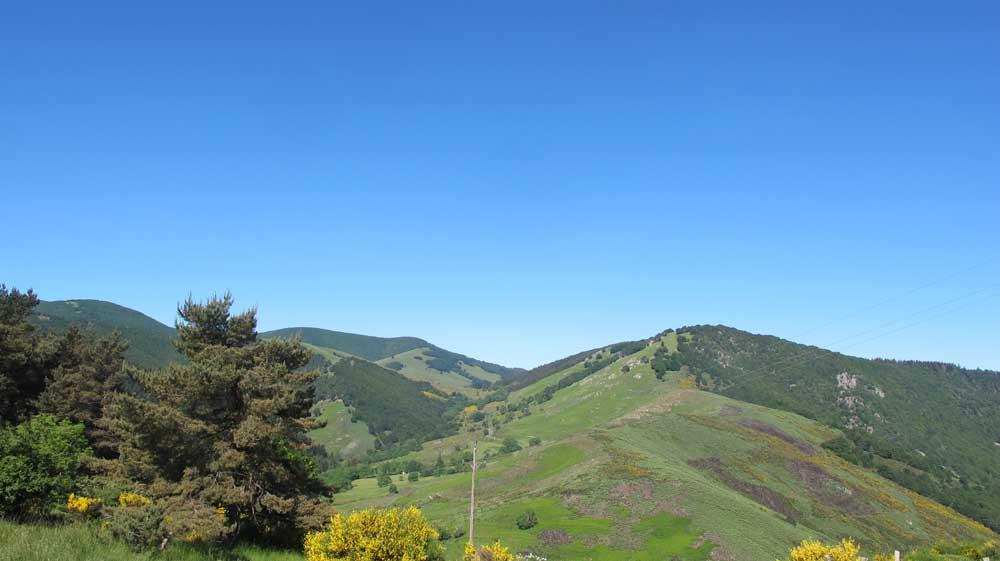 Col Salidès - Vue vers l'Ouest