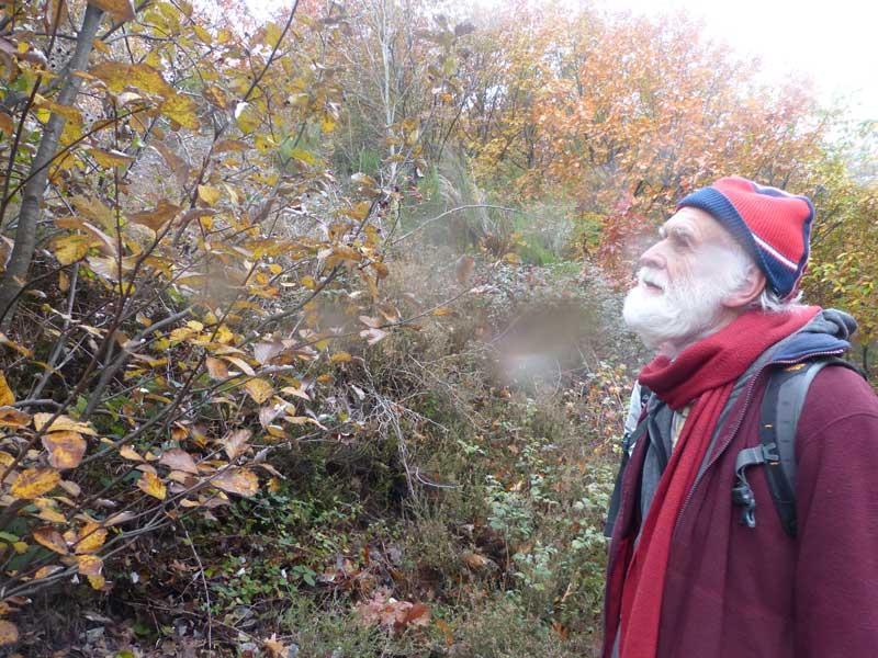 Bernard, ingénieur forestier (photo Georges Mattia)