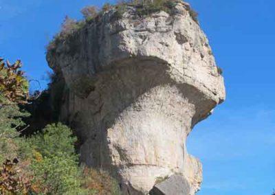 Dolomie en forme de vase