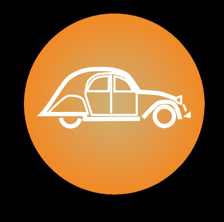 Itineraires routiers en voiture et en velo en Cevennes