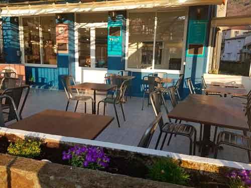 Cafe restaurant du jardin à Valleraugue