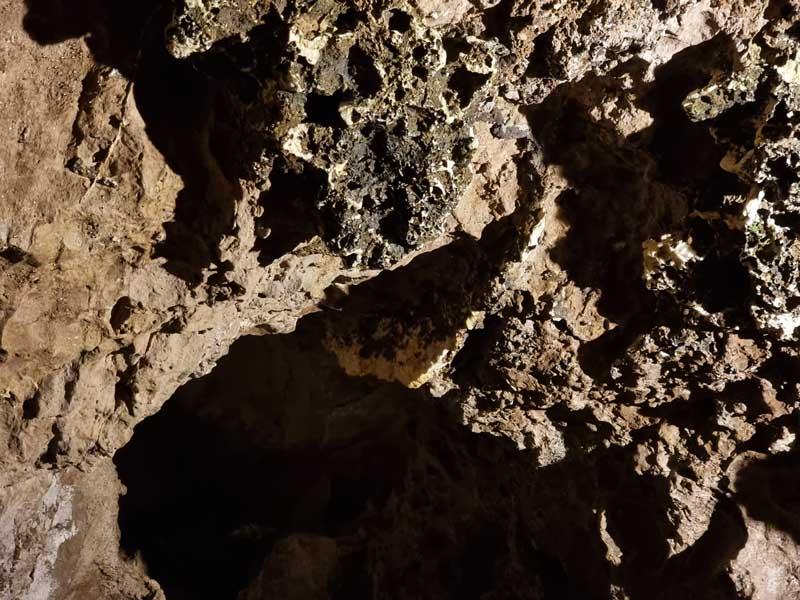 Le filon de baryte - Bramabiau - Camprieu (photo Philippe Gaubert)
