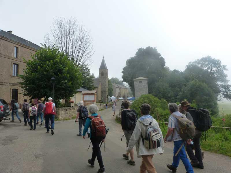 Le vrai départ - Camprieu (photo Georges Mattia)