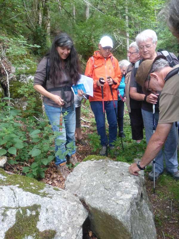 Le granite - Bramabiau - Camprieu (photo Georges Mattia)