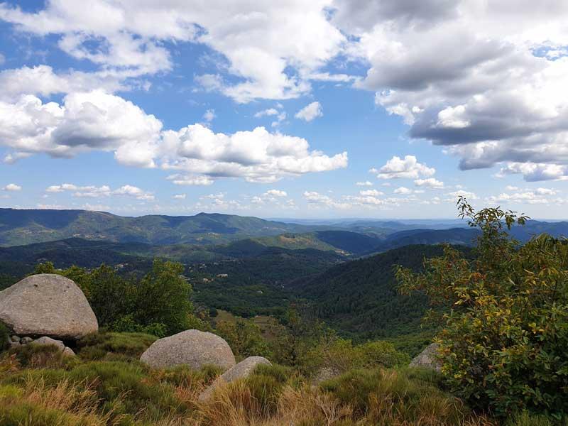 Vue du col de Montclar (photo Carlos)