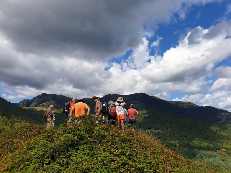 Vue sur le Mont Lozère autour de Génolhac (photo Carlos)