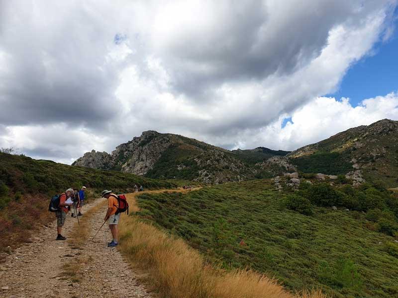 Vers le col de Montclar - Génolhac (photo Carlos)